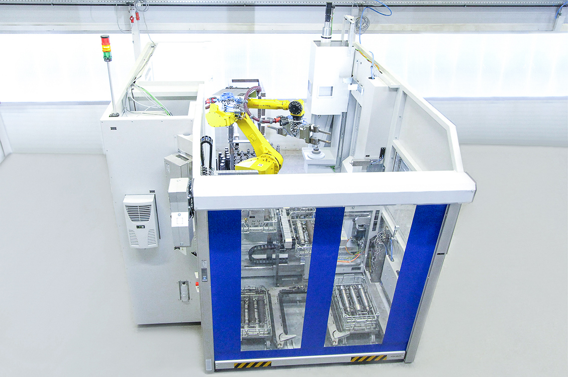 W30 with palletising modul // shafts