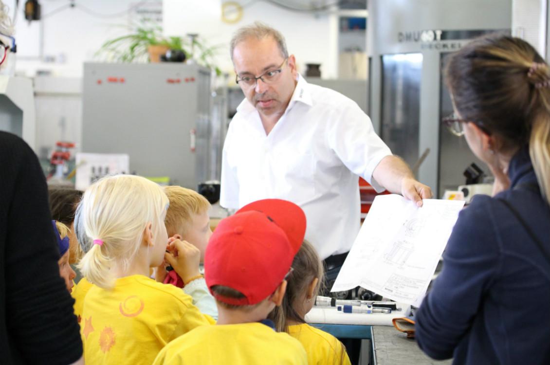 WMS Besuch vom Kindergarten Griessen