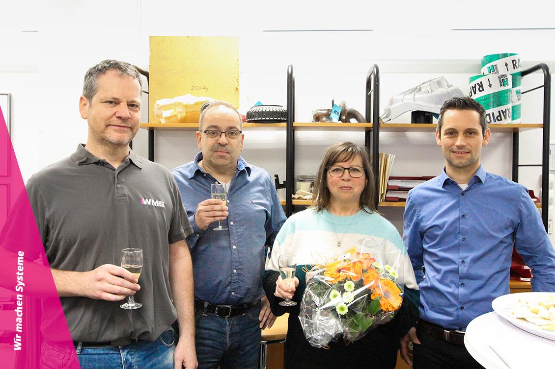 Jubiläum Martin Limberger und Frau Vossen