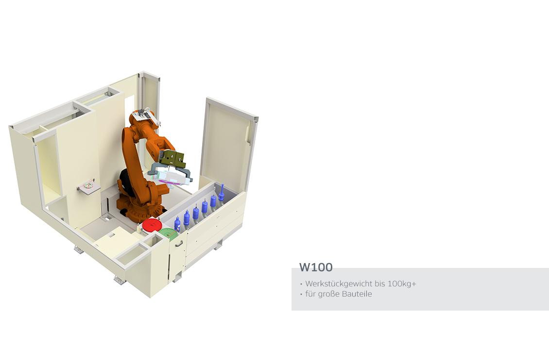W100 Maschine WMS